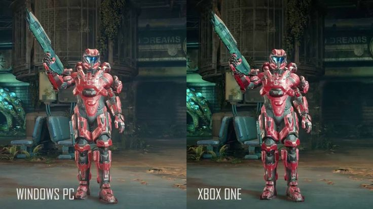 nice Halo five Pc vs Xbox Just one Graphics Comparison