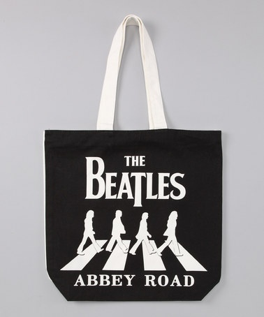 The Beatles 'Abbey Road' Tote Bag by Rock Stars Collection