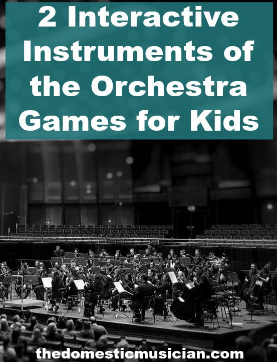 instruments of the orchestra activities