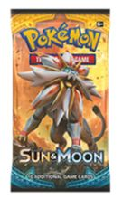 6X Pokemon Trading Cards Game Booster Pack 6 (Cover Varies) Of - Sun And Moon