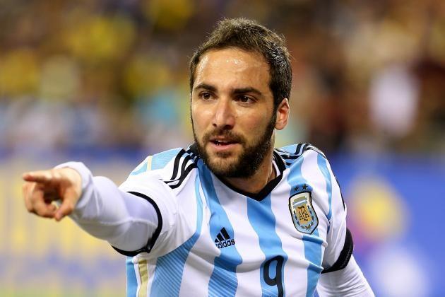 39. Gonzalo Higuain, Argentina