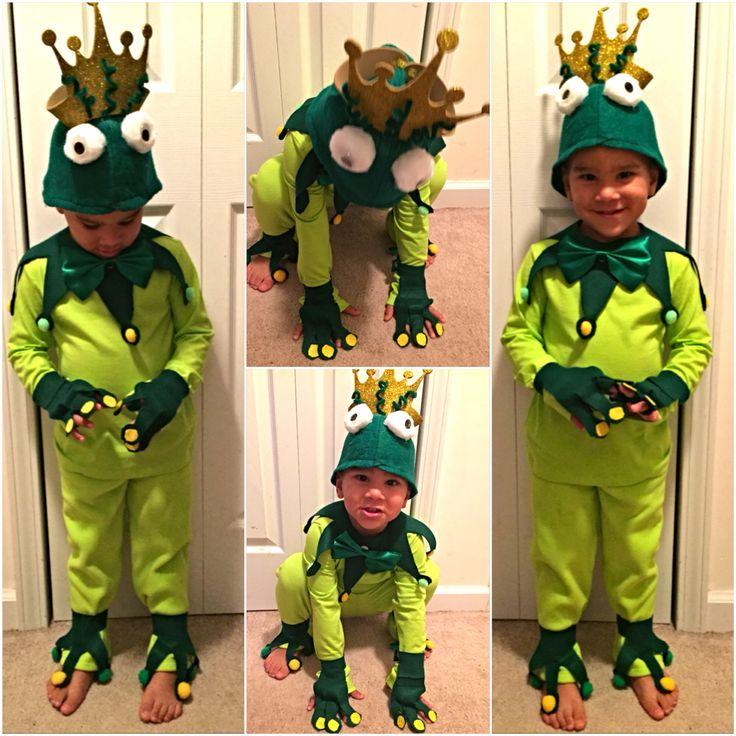 My babes frog prince costume !! Prince naveen to be exact ;-)