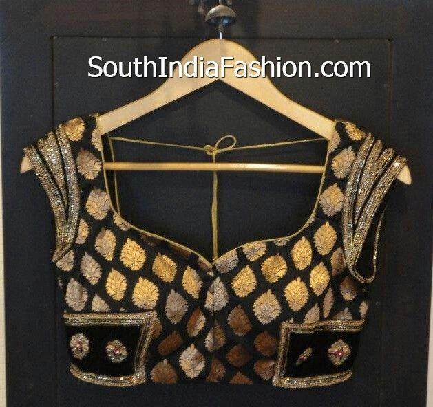 Classy brocade blouse