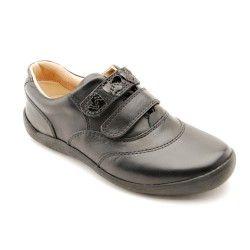 Start-rite Niños Negro Arachnid Cuero G Width Zapatos-UK 9 Niños hSvDbbq