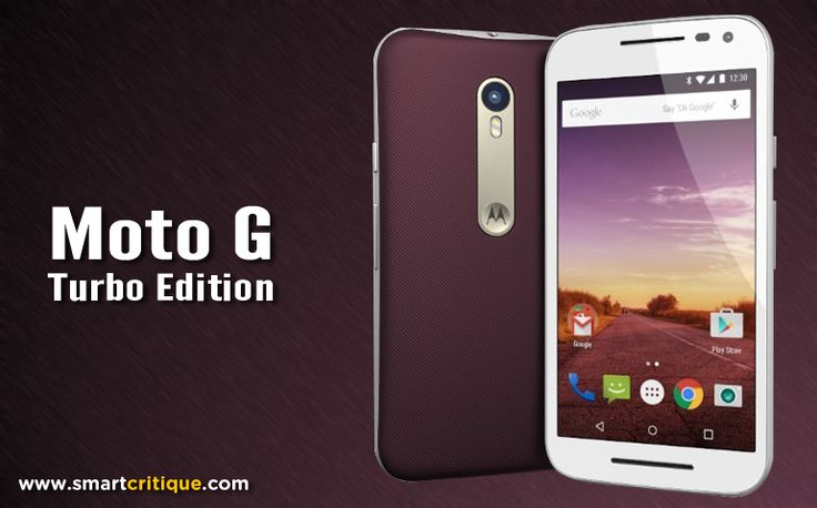 Moto G Turbo Edition: An improved version of Moto G 3rd Gen