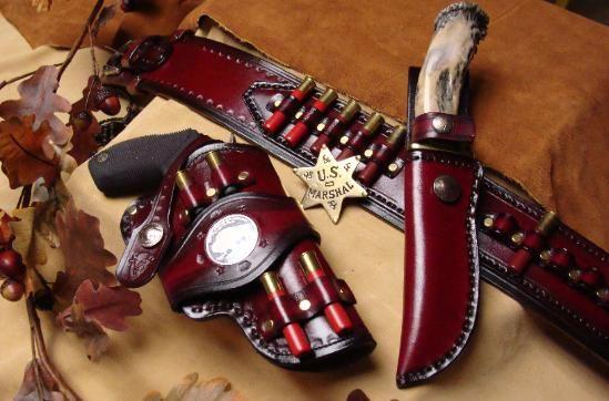 Tough & Taurus Judge Custom Gun Leather Holsters