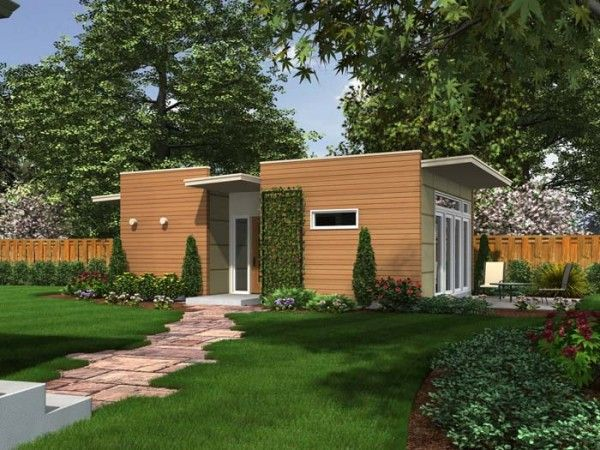 Backyard box a company based in seattle designs and for Prefabricated homes seattle
