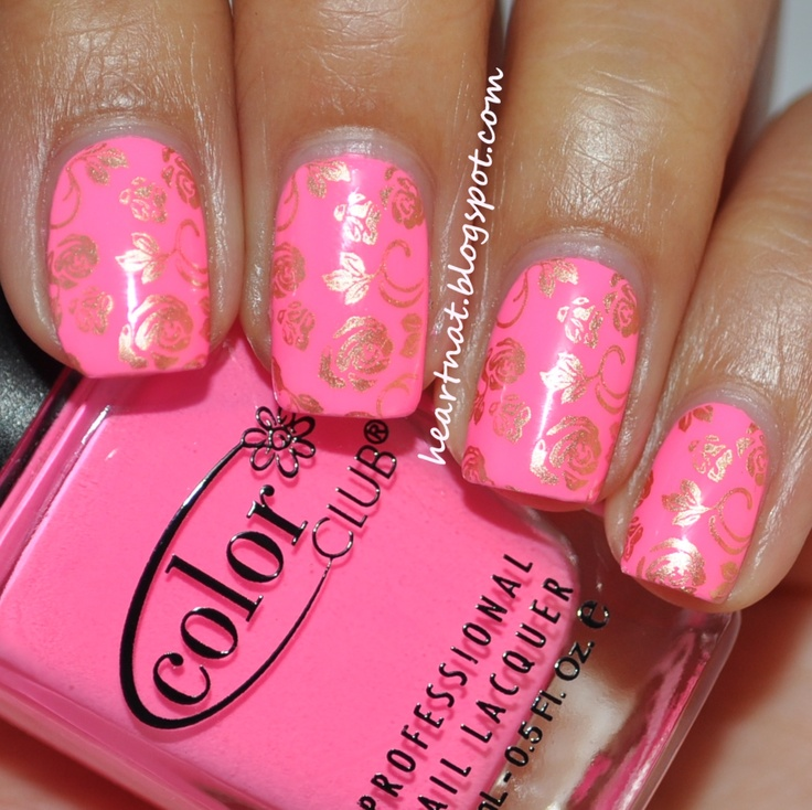 120 best konad pueen and cheeky nails images on pinterest make heartnat color club modern pink and konad m65 prinsesfo Choice Image