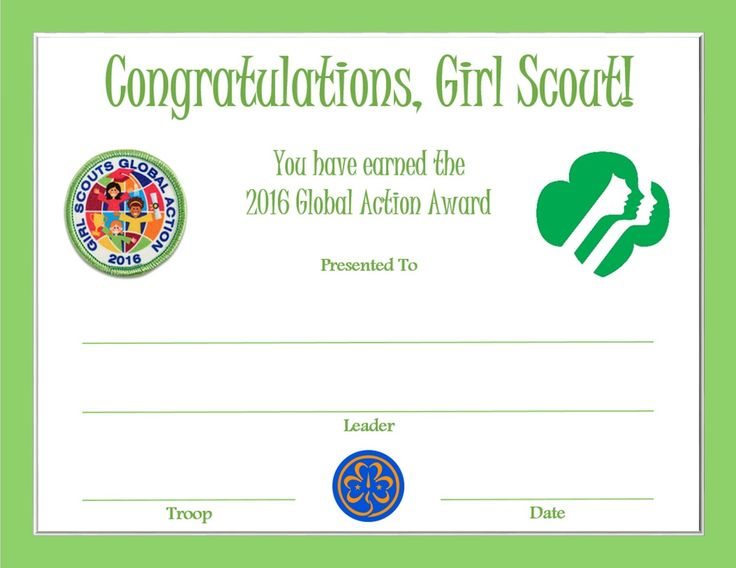girl scout award certificate templates - 727 best for girl scout cadette images on pinterest