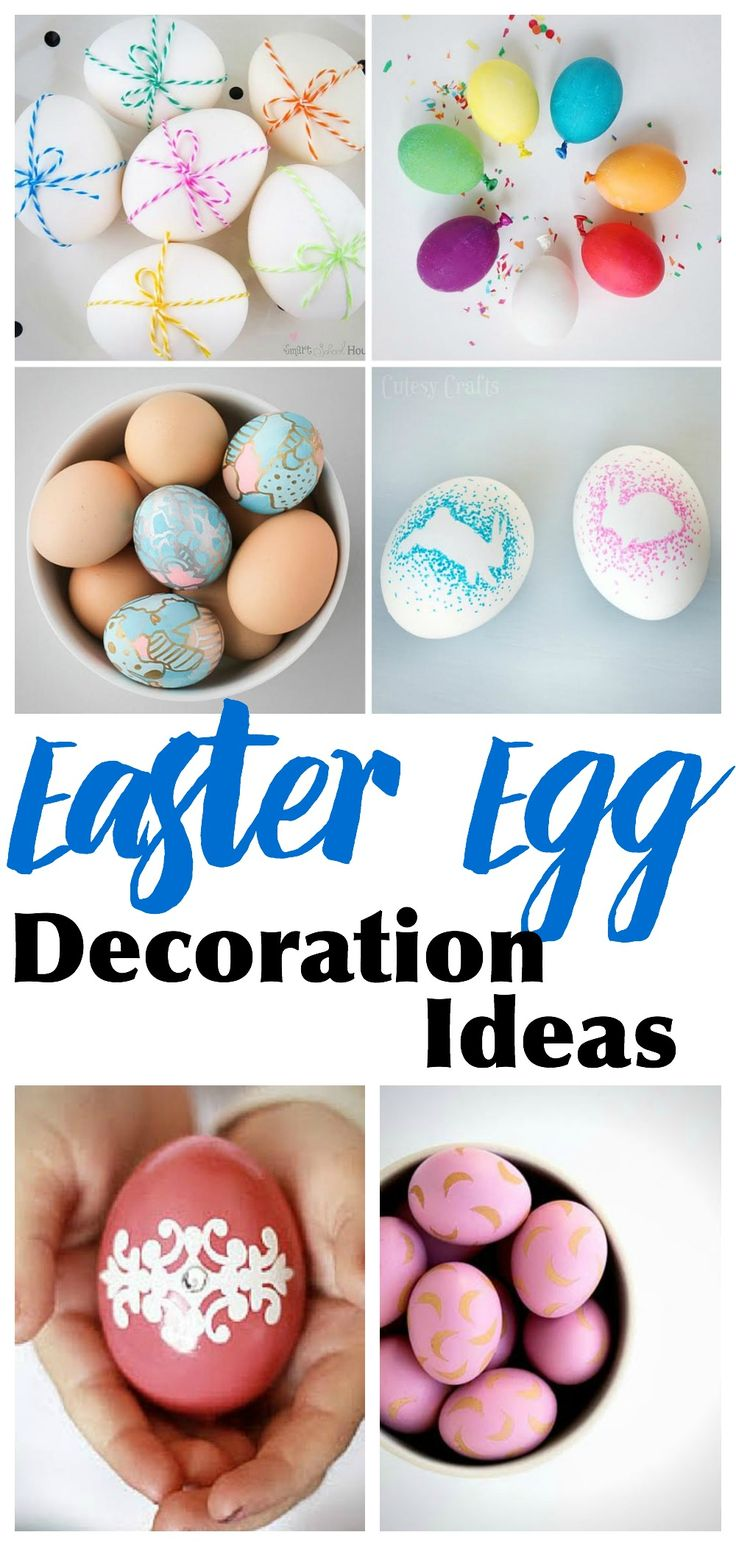 31 creative easter egg decoration ideas creative eggs Creative easter egg decorating ideas