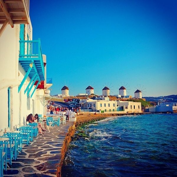 Mykonos island, Greece  love this place!!!