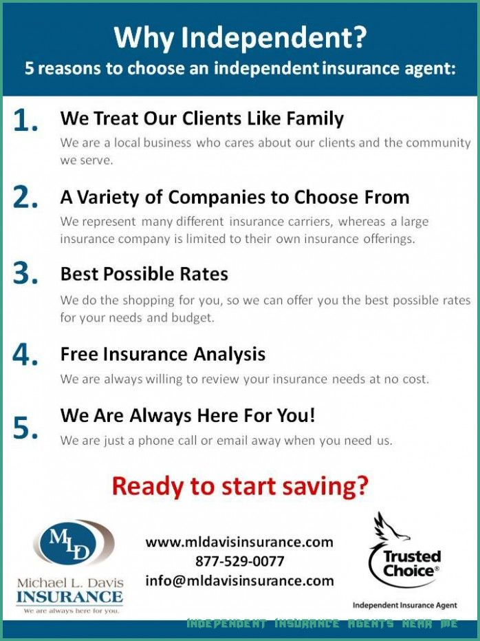 8 Independent Insurance Agents Near Me Rituals You Should ...