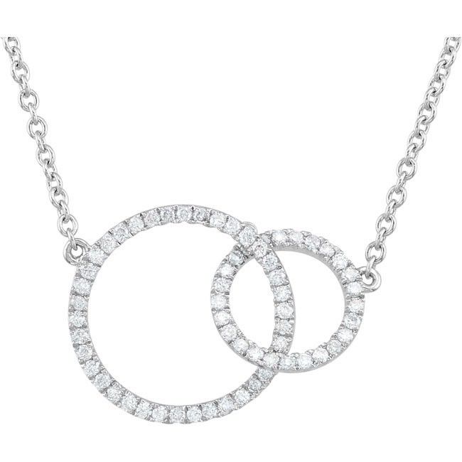 20 best necklaces images on pinterest choker necklaces diamond circles of love diamond pendants diamond jewelry from ferbers jewelry aloadofball Images