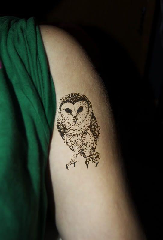 Small Owl Tattoos   owl tattoo im working on - Grasscity.com Forums