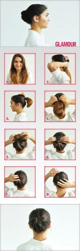 Schnelle Frisur für die Arbeit – #Arbeit #die #Frisur #fuer #Schnelle
