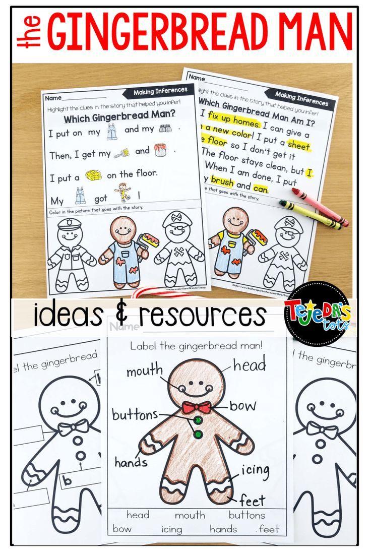 Gingerbread Man Activities Gingerbread Man Activities Gingerbread Man Preschool Gingerbread Man Kindergarten [ 1103 x 736 Pixel ]