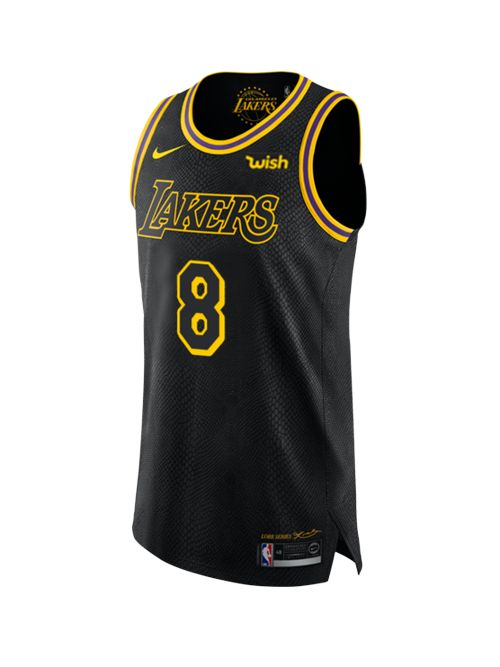 Los Angeles Lakers Kobe Bryant #8 City Edition Authentic Jersey