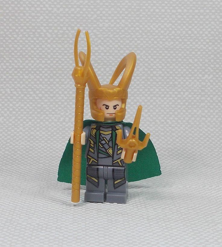 Loki - Mini Figure - 2  - Marvel - Avengers - Thor