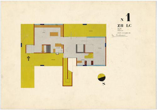 le corbusier plan drawings - Google Search