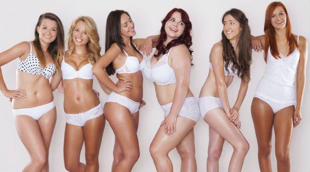 Resultado de imagem para corpos femininos normais