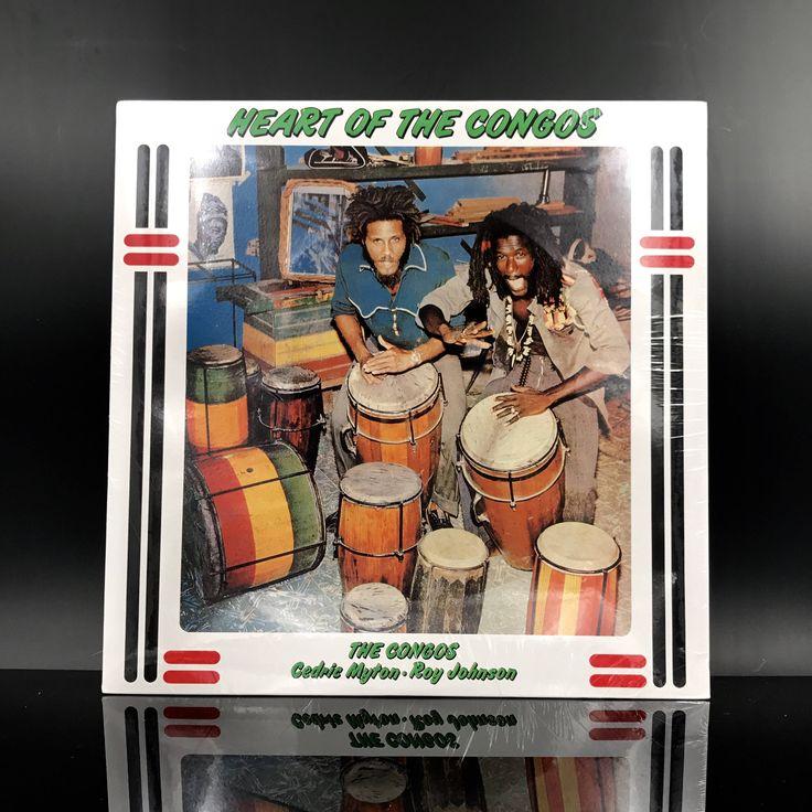 RARE: The Congos - Heart Of The Congos - Reggae Vinyl Record - Roots Reggae Music - LP by VinylLoversUnite on Etsy
