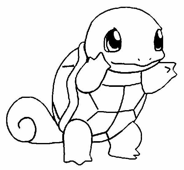 Pokemon Turtle Unique Coloring