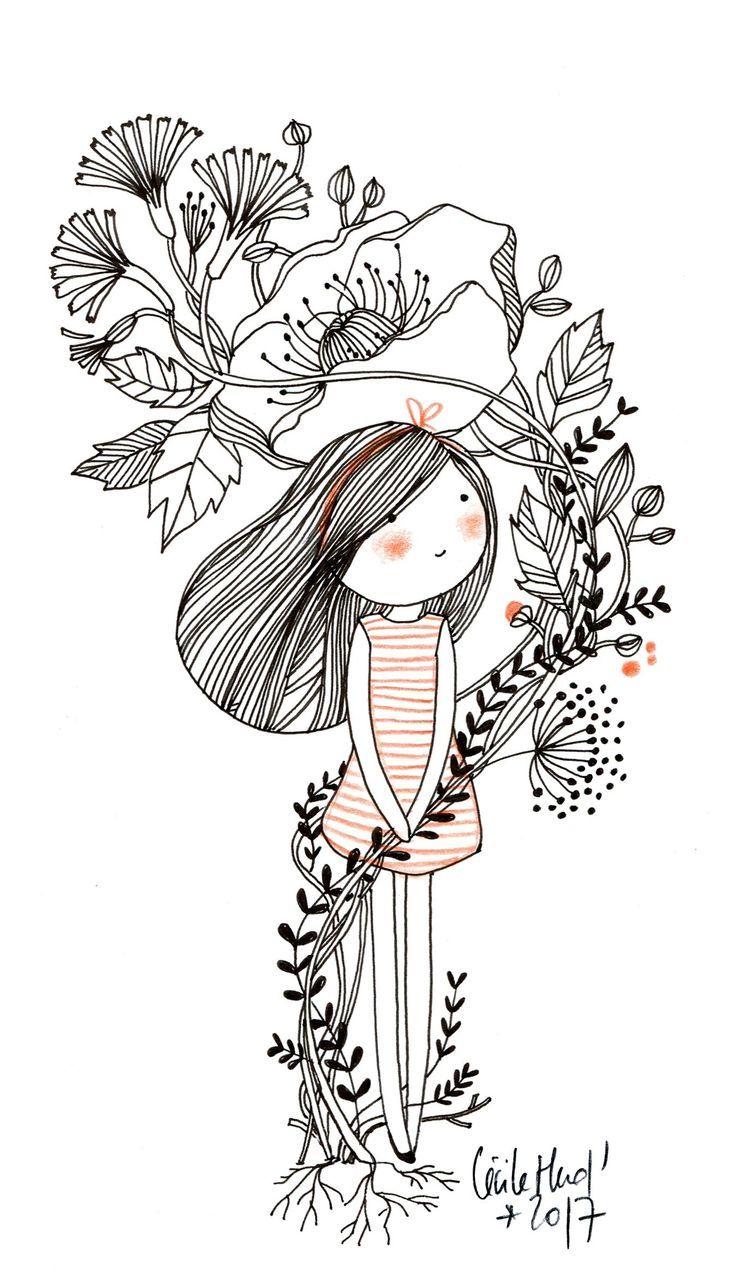 """In bouquet"" by Cécile Hudrisier"