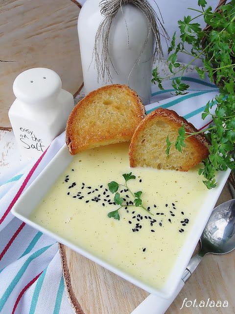 Ala piecze i gotuje: Zupa serowa