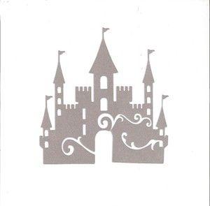 Princess Castle Silhouette