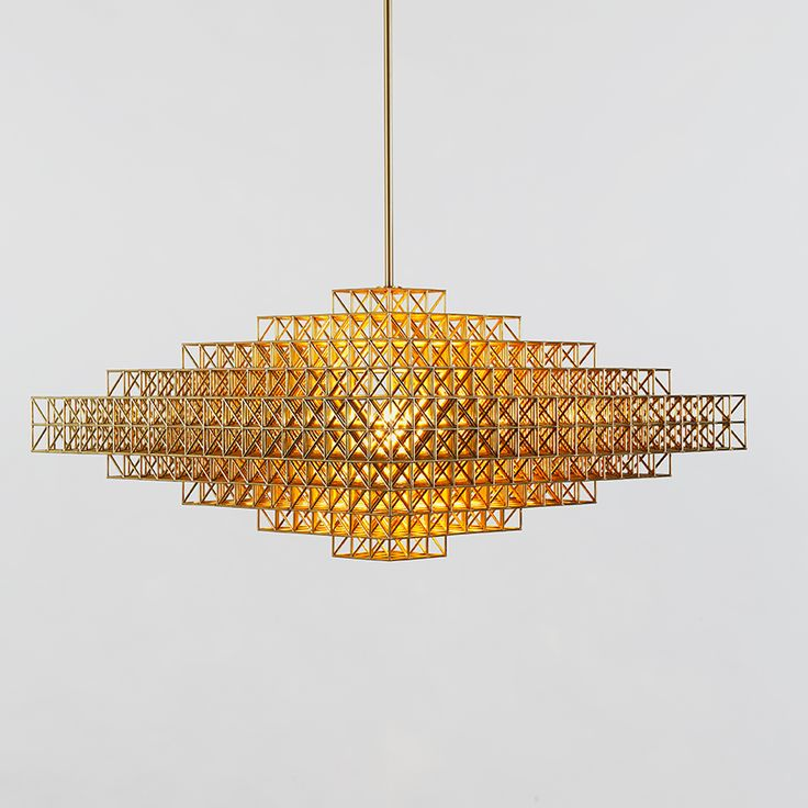 Gridlock pendant by Philippe Malouin for Roll & Hill, SCP