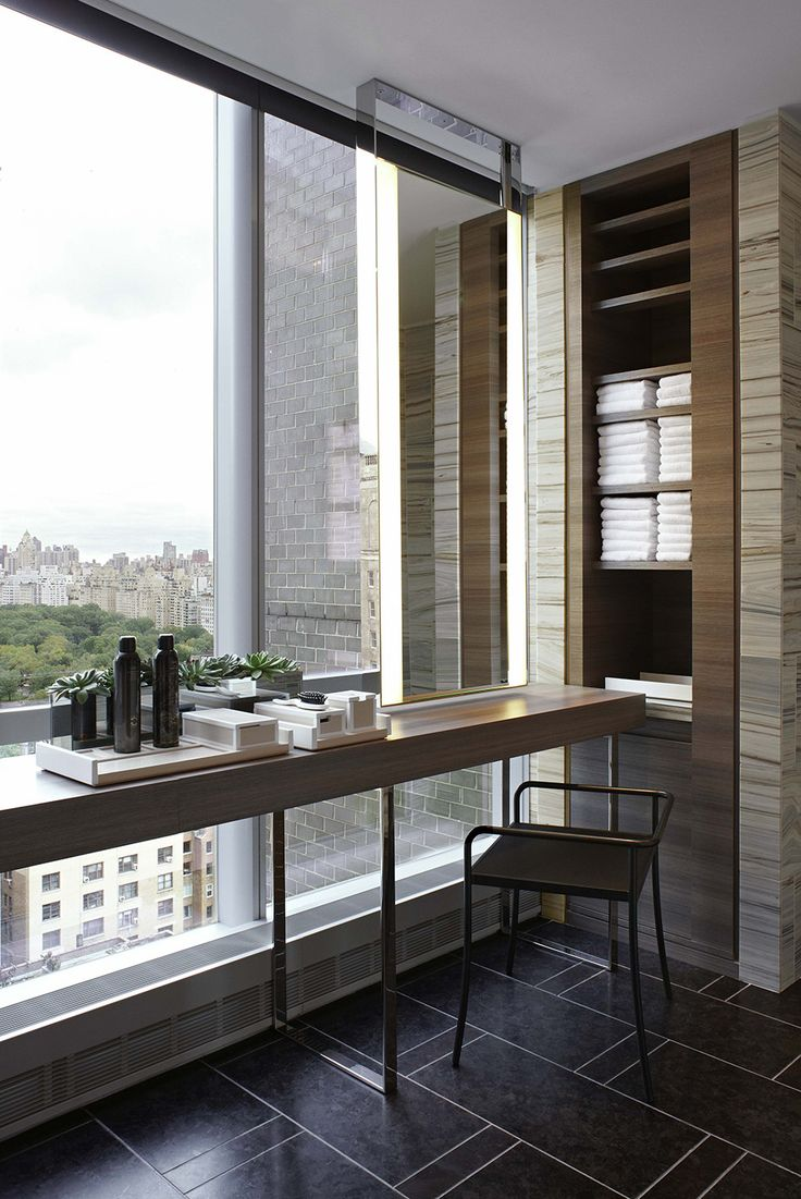 Midtown Manhattan's recently opened Park Hyatt hotel, ensconced in a gleaming new 90-story skyscraper, has tout New York abuzz. Here, <b>George Yabu and Glenn Pushelberg,</b> the designers charged with creating its interiors, share the inside scoop behind their sleek and sumptuous scheme — and reveal how to bring the look home with items on 1stdibs.