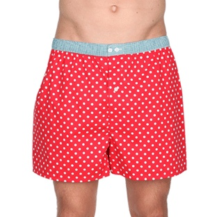 Rad in red! #boxer #shorts #boxers #gifts #gift #presents #dads