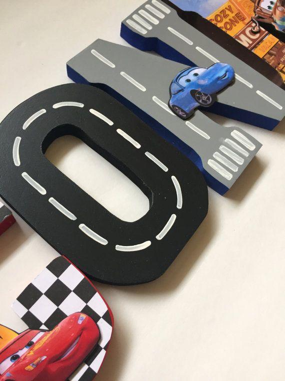 Letras de coches por LiamSloaneDesign en Etsy