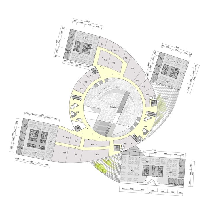 Second Floor Plan Of Impressive Fangda Business