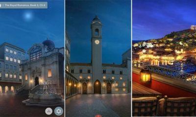 Romantic computer game uses Dubrovnik as Kingdom of Cordonia