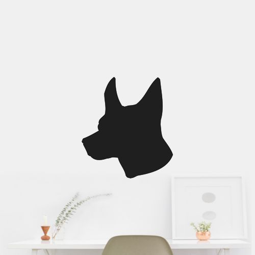 Miniature Fox Terrier Dog Puppy Breed Silhouette Wall Car Vinyl Decal Sticker