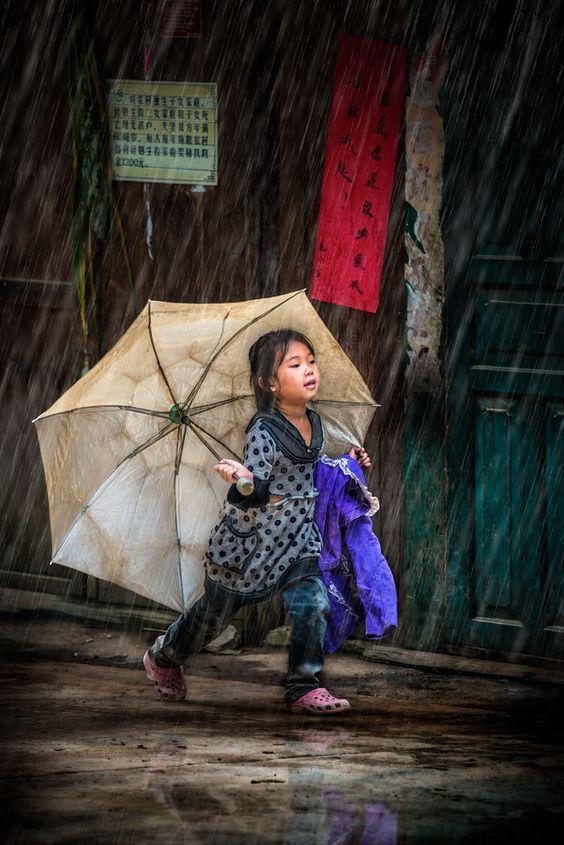 Running Into The Rain: Raphael Marchand.