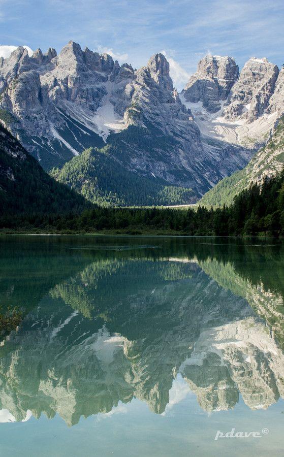 Lago di Landro #dolomiti #dürrensee South Tyrol Trentino-Alto Adige italy