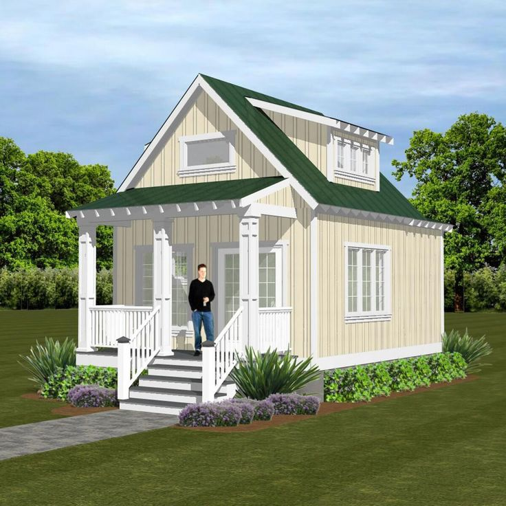 Tiny Home Designs: 317 Aspen (Crawl In 2019