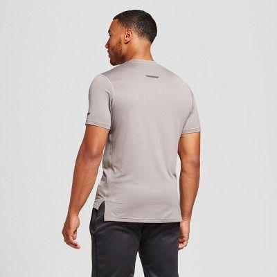 Men's Run T-Shirt - C9 Champion Silver Gray L