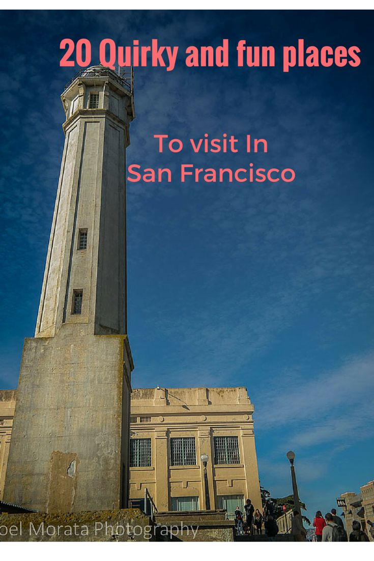 Quirky and fun places to visit in San Francisco outside of typical tourist attractions