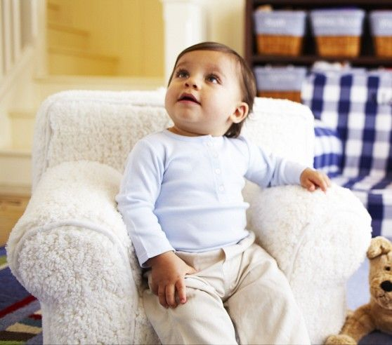 My first anywhere chair r cream sherpa babies for Baby and kids first furniture