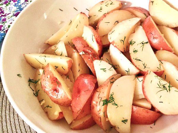 Top Secret Recipes | Boston Market Garlic Dill New Potatoes Copycat Recipe