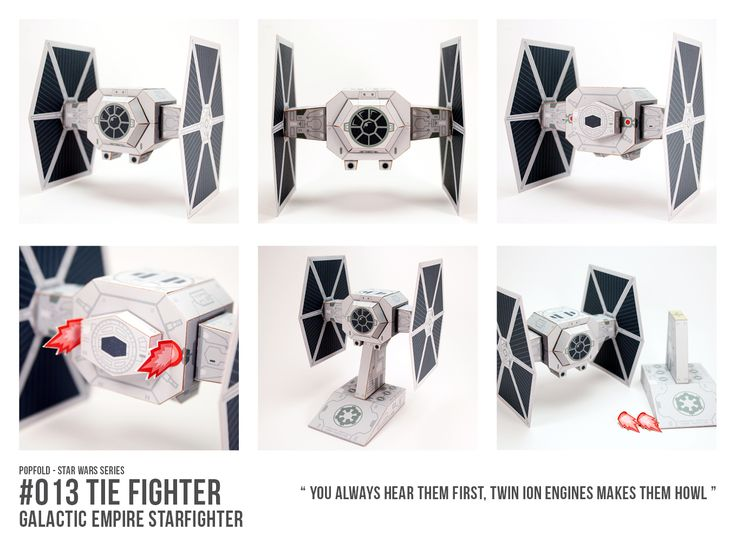 WREAAAAAOOOOOOO  Time to make those engine noises with the iconic TIE Fighter, the workhorse of the Galactic Imperial starfleet in preparation for the release of Rogue One - a Star Wars story #StarWars #RogueOne