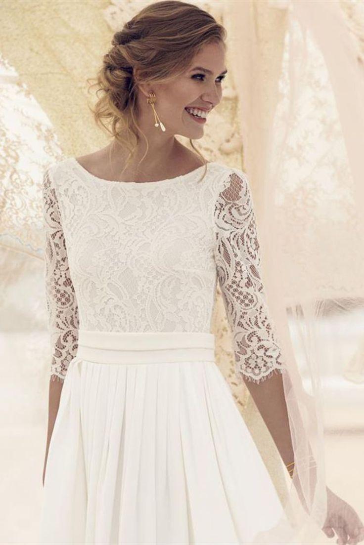 Bridal dress, vintage wedding, vintage bridal dress, bridal wear 2019, Rembo Stying, B …