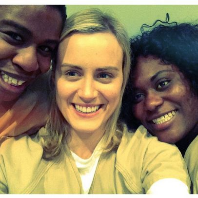 "The selfies are too much. | 28 Times The Cast Of ""Orange Is The New Black"" Was Adorable Together On Instagram"
