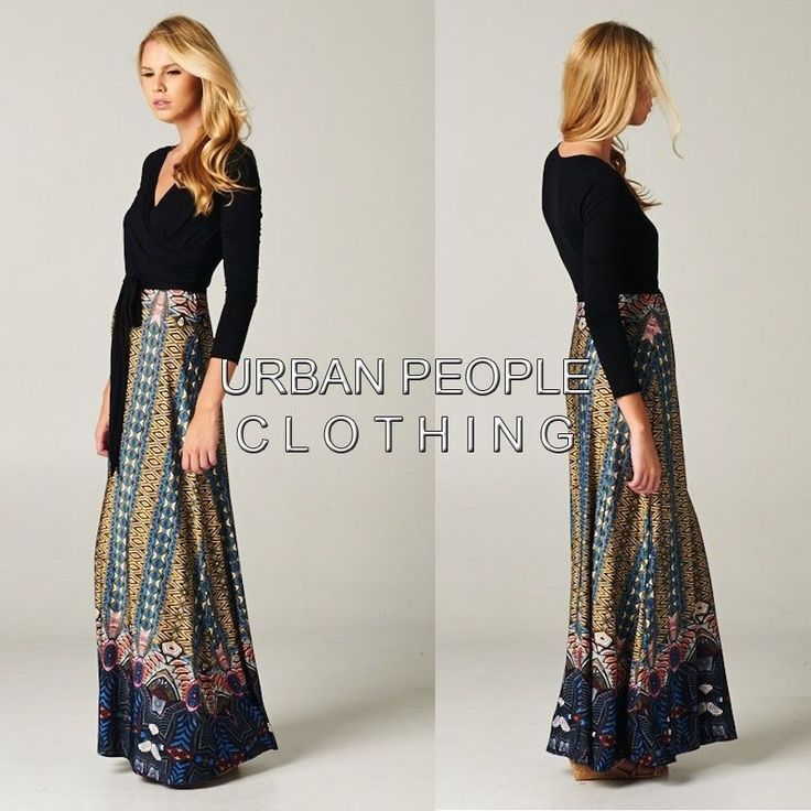 13 Best Bohemian Wrap Dress Images On Pinterest