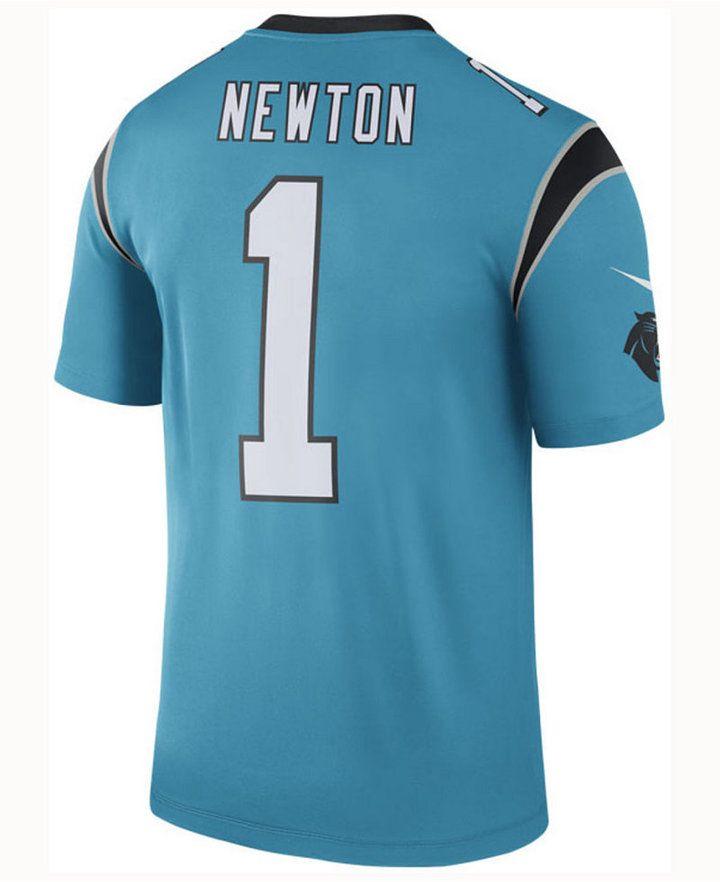 6fbc3a404 Nike Men Cam Newton Carolina Panthers Legend Color Rush Jersey ...