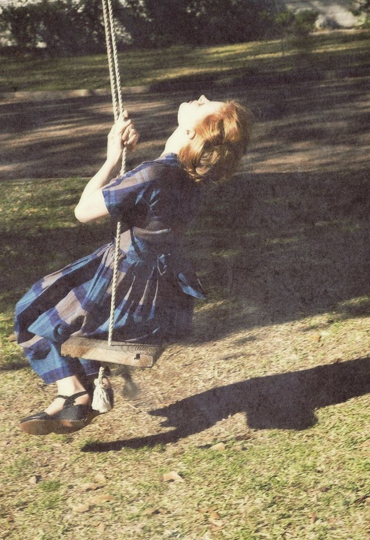 I'd love to have a swing at home, whether I'll happen to have kids or not :D