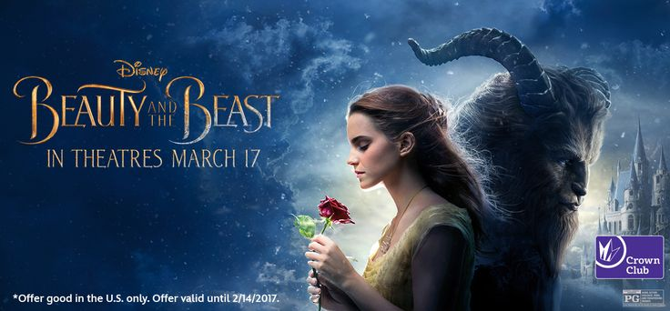 Be our guest and get a free* small popcorn when you link your accounts & purchase Beauty and the Beast tickets through Regal Cinemas Crown Club®: www.disneymovierewards.go.com/promotions/special-offers/BeautyAndTheBeastOffer?cmp=DMR|PIN|GWL|BATBPopcorn|2017|Feb|1